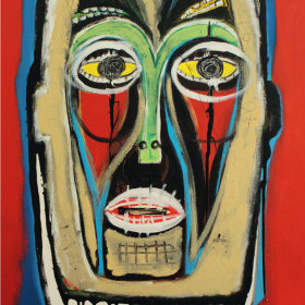 The Mask | 60x100cm